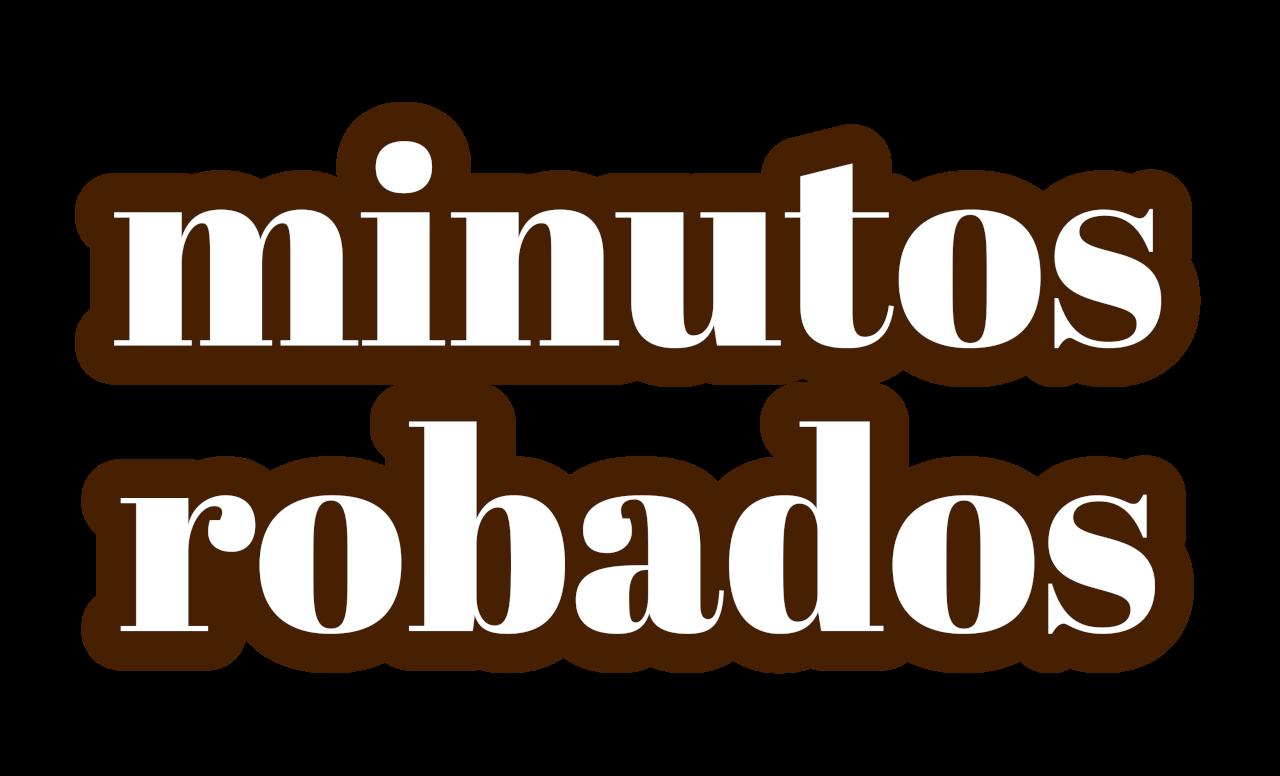 Minutos robados logotipo